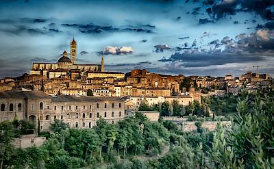 Siena in Tuscany, Italy. Photo via Flickr:Francesco Gazzola