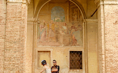 Frescos on the Tuscany - Pisa & Florence Bike Tour. ©Photo via TO