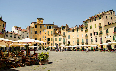 Main square in Lucca, Tuscany, Italy. ©Photo via TO