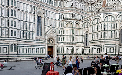 Piazza del Duomo in Florence, Tuscany, Italy. CC:Peter K Burian