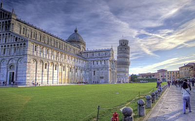 Leaning tower of Pisa in Tuscany, Italy. Flickr:Niels J. Buus Madsen