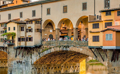 Ponte Vecchio bridge in Florence, Tuscany, Italy. ©Photo via TO