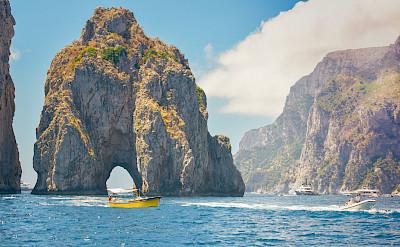Biking & Boating the Amalfi Coast in Italy.