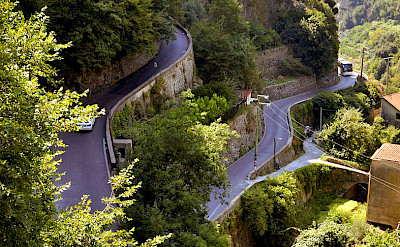 Cycling up to Ravello on the Amalfi Coast. Photo by Jon Kuta