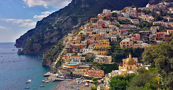Beautiful seaside town of Positano, Italy. Flickr:pululante