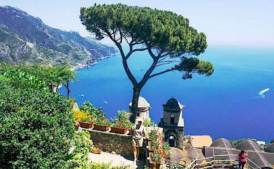 Ravello on the Amalfi Coast in Italy.