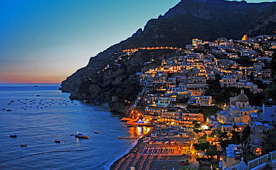 Sunset over Positano, Italy. CC:JeCCo