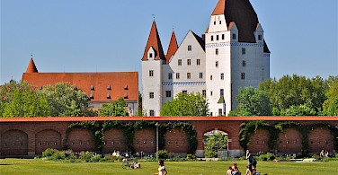 Another castle on this Germany bicycle tour: Neues Schloss in Ingolstadt. Photo via Flickr:Robert Lesti
