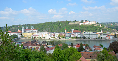 Beautiful Passau in Lower Bavaria, Germany. Photo via Flickr:sugarbear96-PublicDomain