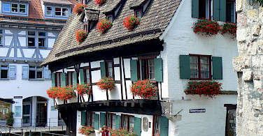 Krummes Haus, the oldest building in Ulm, Germany. Photo via Flickr:dierk schaefer