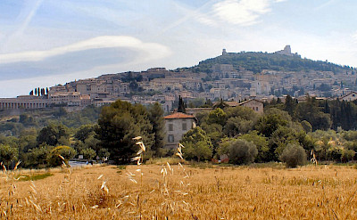 Gorgeous landscape of Assisi in Umbria, Italy. CC:Gunnar Bach Pedersen