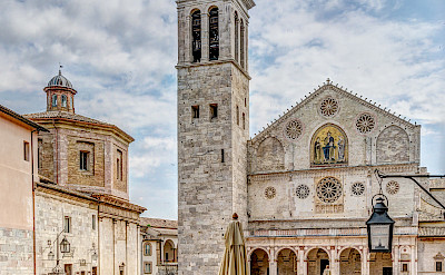 Cathedral of Santa Maria Assunta in Spoleto, Umbria, Italy. Flickr:Steven dosRemedios
