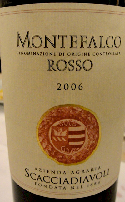 Montefalco Rosso wine in Umbria, Italy. Flickr:Umbria Lovers