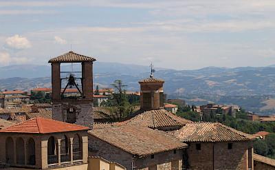 Rooftops of Perugia in Umbria, Italy. CC:Dominique Grassigli