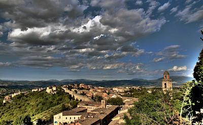 """Overlooking Perugia in Umbria, Italy. Flickr:Carlo """"Granchius"""" Bonini"""