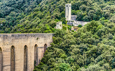 Ancient aqueduct in Spoleto, Umbria, Italy. Flickr:Steven dosRemedios