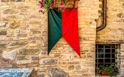 Flag in Umbria, Italy. Flickr:Steven dosRemedios