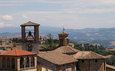 Rooftops of Perugia in Umbria, Italy. CC:Dominique Grassigli