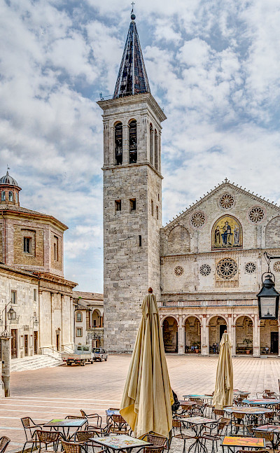 Cathedral of Santa Maria Assunta in Spoleto, Umbria, Italy. Flickr:Steven dosRemedios