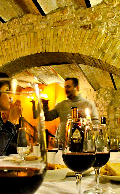 Wine tasting the Montefalco in Umbria, Italy. Flickr:Umbria Lovers
