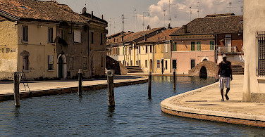 Quieter life in Comacchio, Ferrara, Italy. Photo via Flickr:Enrico Pighetti