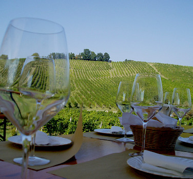 Wine tasting in Italy, of course. Photo via Flickr:Udo Schroter