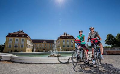 Baroque Schloss Hof is near the Slovakian border in Austria. Photo via TO