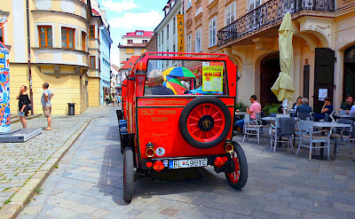 Altstadt in Bratislava, Slovakia along the Danube River. Photo via Tour Operator.