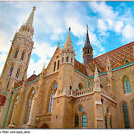 Cathedrals in Budapest, Hungary are just lovely! Photo via Flickr:Moyan Brenn