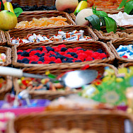 Candy from Budapest's popular shopping street Vaci in Hungary. Photo via Flickr:Tinou Bao