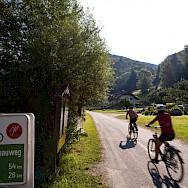 Biking the Danube Bike Path (Donauweg). Photo via TO