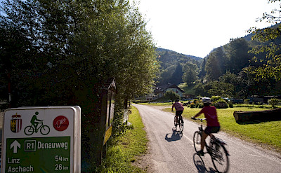 Biking the Danube Bike Path (Donauweg). Photo via TO