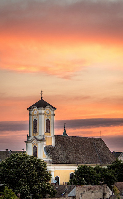 Saint Peter and Paul Church in Szentendre, Hungary. Photo via Flickr:Andrew Moore