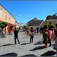 Square gathering in Szentendre, Hungary. Photo via Flickr:Jose A.