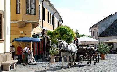 Carriage ride in Szentendre, Hungary. Photo via Flickr:Antoine 49