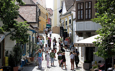 Shopping in Szentendre, Hungary. Photo via Flickr:Rego Korosi