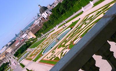 Gardens at the Belvedere Castle in Vienna, Austria. Photo via Flickr:renate dodell