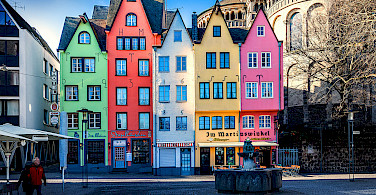 Alstadt in Cologne, Germany. Photo via Flickr:Michael Dernbach