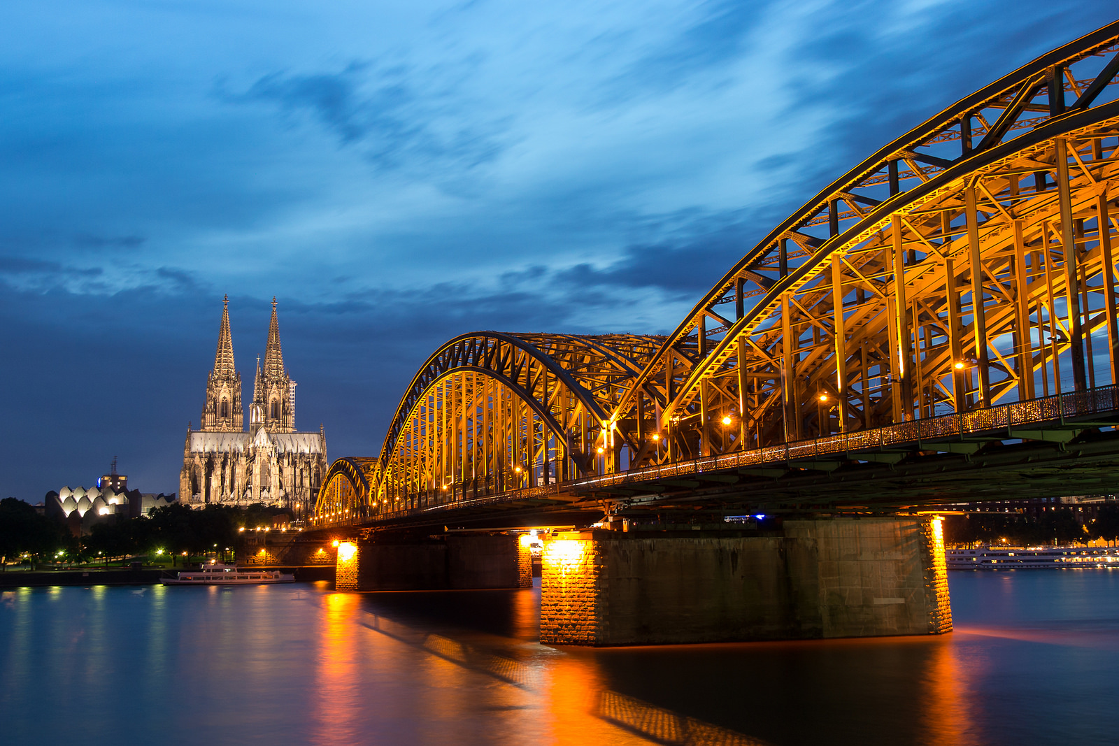 Wolfsburg To Koblenz Bike And Barge Tour Germany Tripsite Bridge Diagram Flickr Photo Sharing Famous Cathedral In Cologne Via Flickranja Pietsch