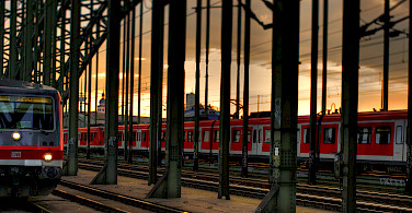 DB Bahn in Cologne, Germany. Photo via Flickr:thomasdependbusch