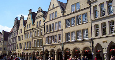 Prinzipalmarkt in Münster, Germany. Photo via Flickr:Arthur & Grace van de Laak