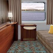MS Theodor Korner - cabine dupla