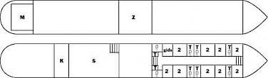 floor plan - Anna Maria IV