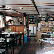 Dining Area - Anna Maria IV - Bike & Boat Tours