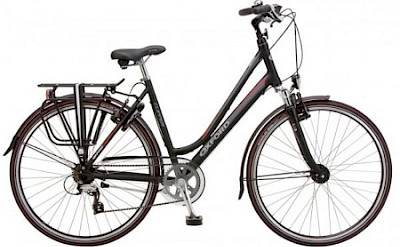 27-Speed Hybrid Bike used on Loire Valley bike & boat tour