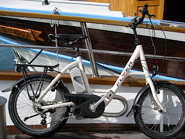 """Swiss Flyer"" ebike used on Croatia tours."