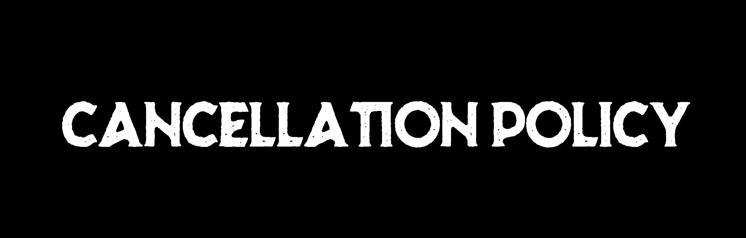 Cancellations