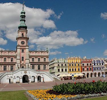 Zamość in Poland. Photo via Wikimedia Commons:Maciej Ukleja