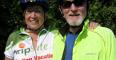 The Williams' on their 2012 Bike Tour!
