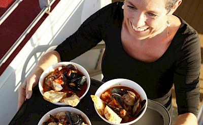 Seafood! | Ave Maria | Bike & Boat Tour